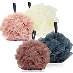 Shower Puff 4 Pack